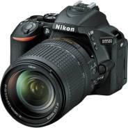 Nikon D5500 Kit. 20 и более Мп, зум: 14х и более