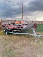 Лодка. длина 4,70м., двигатель стационарный, 200,00л.с., бензин