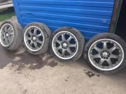 Универсальные колеса. Обмен на автошины, литые диски. 7.0x17 5x100.00, 5x114.30 ET38 ЦО 73,1мм.