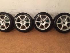 """Продам комплект колес Nissan на 17 с летней резиной. 7.0x17"""" 5x114.30 ET45 ЦО 73,0мм."""