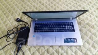 """Asus. 17.3"""", ОЗУ 8192 МБ и больше, диск 750 Гб, WiFi, Bluetooth"""