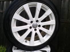 Комплект колес. 8.0x18 5x108.00 ET55 ЦО 63,3мм.