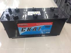 Аккумулятор Скат 6CT-140 (R) 140а/ч п. т.870А, Май 2017 года. 140 А.ч., Прямая (правое), производство Россия