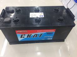 Аккумулятор Скат 6CT-190(R) 190а/ч п. т. 1100А, Май 2017 года. 190 А.ч., Прямая (правое), производство Россия