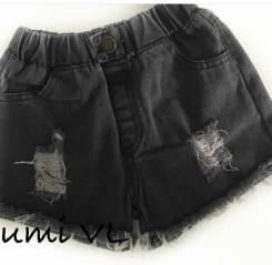 Шорты джинсовые. Рост: 80-86, 86-98 см