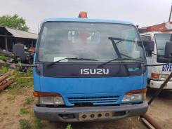 Isuzu Elf. Продается грузовик Isuzu с манипулятором., 4 600 куб. см., 2 000 кг.