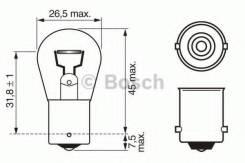 Лампа STANDARD P21W 12V 21W 1987302201 bosch 1987302201 в наличии