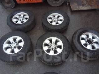 Продам комплект колес Bridgestone Blizzak 265/70/16 зима. Япония. 7.0x16 6x139.70
