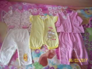Одежда основная. Рост: 60-68, 68-74, 74-80 см