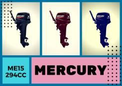 Mercury. 15,00л.с., 2-тактный, бензиновый, Год: 2017 год