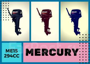 Mercury. 15,00л.с., 2х тактный, бензин, Год: 2017 год