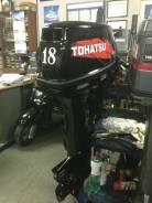 Tohatsu. 18,00л.с., 2х тактный, бензин, нога S (381 мм), Год: 2011 год