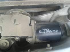 Мотор стеклоочистителя. Toyota Verossa, GX115, GX110, JZX110 Toyota Brevis, JCG11, JCG10, JCG15 Toyota Mark II Wagon Blit, GX110, JZX110, GX115, JZX11...