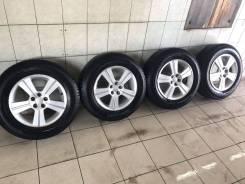 Комплект колес на оригинальных дисках Subaru. 6.5x16 5x100.00 ET48