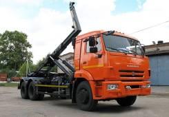 Автосистемы АС-4. АС-15 (63370D) (на шасси Камаз 65115-773094-42 Евро-4) (навеска Hiab)
