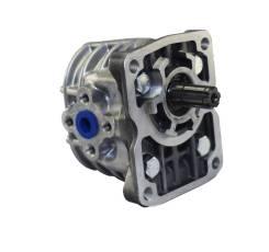 Гидравлический насос(гидронасос) шестеренный НШ 10У-3. Nissan: Infiniti M Hybrid, Exa, Wingroad, Presage, Stagea, Infiniti EX35/37, Fuga, Xterra, 350Z...