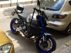 Yamaha MT-09. 900 куб. см., исправен, без птс, без пробега