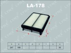 Фильтр воздушный LA178 LA178