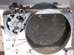 Радиатор охлаждения двигателя. Toyota Mark II, GX81 Двигатель 1GFE