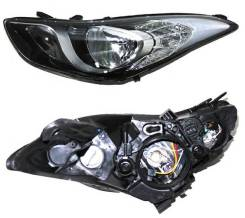Фара левая Hyundai Elantra V 10-