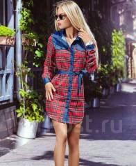 Платья-рубашки. 40-44