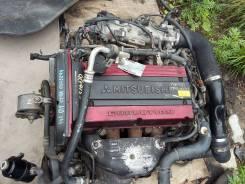Двигатель в сборе. Mitsubishi Lancer, CT9A Mitsubishi Strada Двигатель 4G63
