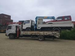 Эвакуатор, грузовик кран 3тн, борт 5 тн. От 1000 руб. Лебедка, сходни.