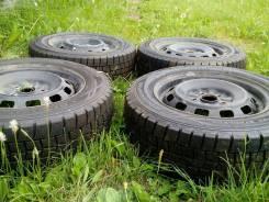 Продам зимние нешипованные колеса на штампованных дисках. x14 5x100.00