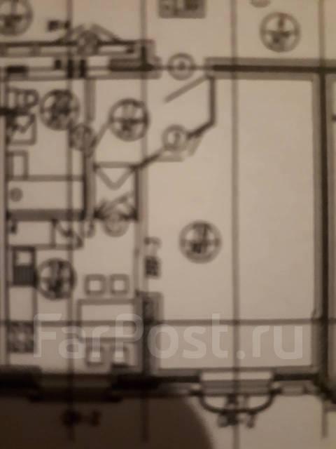 1-комнатная, улица Агеева 52. Семь ветров, 40 кв.м. План квартиры