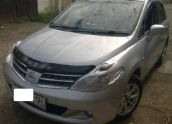 Накладка на фару. Nissan Tiida, C11X, C11