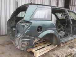 Задняя часть автомобиля. Opel Astra