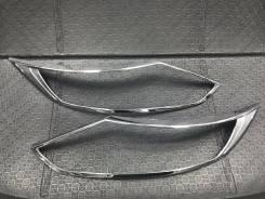 Накладка на фару. Nissan Qashqai, J11