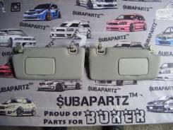 Козырек солнцезащитный. Subaru Legacy, BPH, BLE, BP5, BL5, BP9, BL9, BPE Двигатели: EJ20X, EJ20Y, EJ253, EJ255, EJ203, EJ204, EJ30D, EJ20C