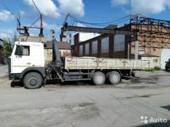 МАЗ 630305-220. Продается бортовой с манипулятором, 14 866 куб. см., 10 000 кг.