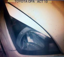 Накладка на фару. Toyota Opa, ZCT15, ZCT10, ACT10 Двигатели: 1AZFSE, 1ZZFE