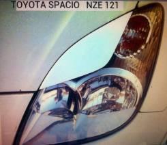 Накладка на фару. Toyota Corolla Spacio, ZZE124, AE111N, ZZE122, AE111, ZZE122N, ZZE124N, NZE121, AE115N, AE115, NZE121N Двигатели: 1ZZFE, 4AFE, 1NZFE...