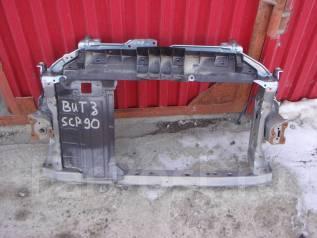 Рамка радиатора. Toyota Vitz, SCP90