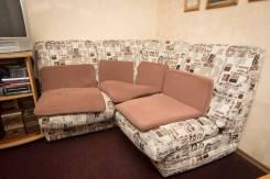 Продам диваны б/у (офисный и диван - кровать)