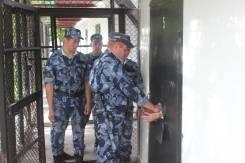Инспектор службы безопасности. Исправительная колония №31. С. Чугуевка, ул. Дзержинского, 1а