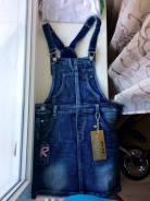 Сарафаны джинсовые. Рост: 146-152 см