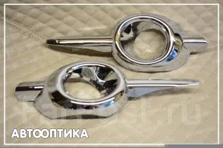Накладка на фару. Honda CR-V, RE5, RM1, RM4 Двигатели: K24A, R20A, R20A9