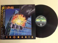 LP. Def Leppard. Pyromania.