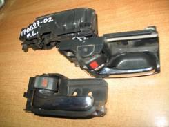 Ручка двери внутренняя, передняя левая, черная, Toyota Corolla, ZZE121, 3ZZ-FE.