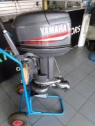 Yamaha. 2-тактный, бензиновый, нога S (381 мм), Год: 2007 год