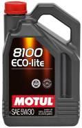 Motul 8100 Eco-Lite. Вязкость 5W-30, синтетическое