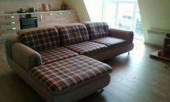 Перетяжка мягкой мебели! Изготовление подушек и матрацев!