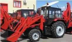 ЭО 2626. Экскаватор-погрузчик ЭО-2626 на базе трактора Беларус 920, 3 000 куб. см., 0,28куб. м.