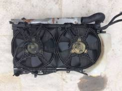 Вентилятор радиатора кондиционера. Subaru Forester, SF5 Двигатель EJ205