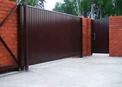 Заборы, ворота откатные и обычные недорого и качественно