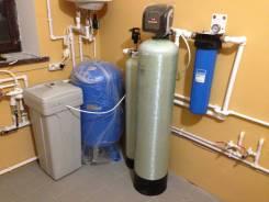 Системы водоочистки. Фильтры для обезжелезивания и умягчения. Установка